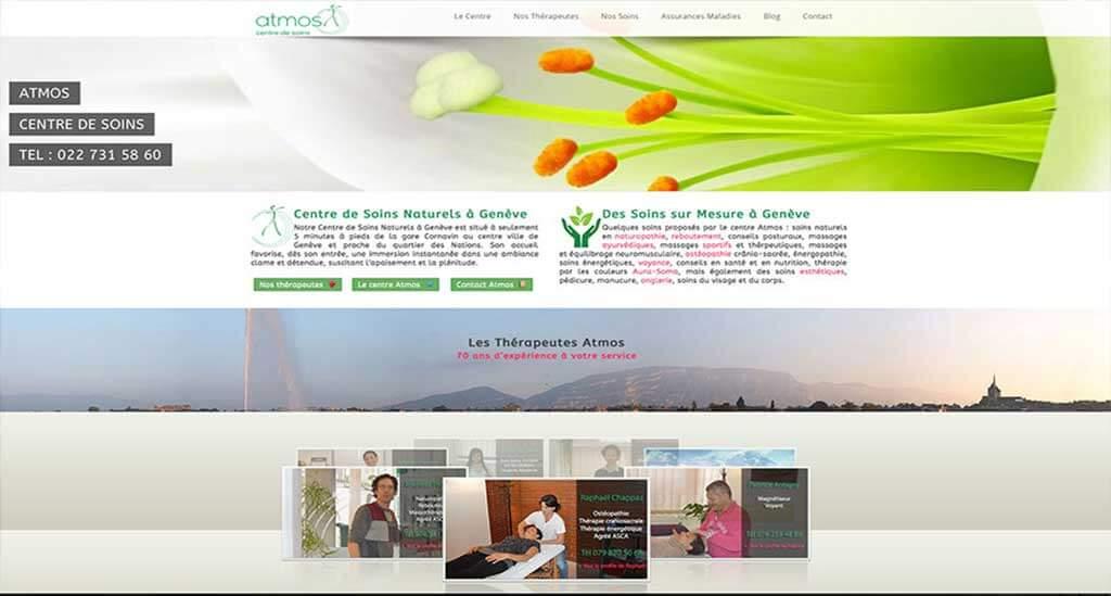 Création site internet WordPress Genève