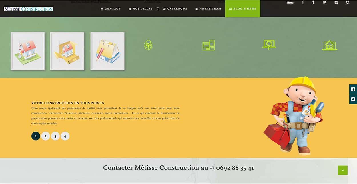 Création site web Réunion