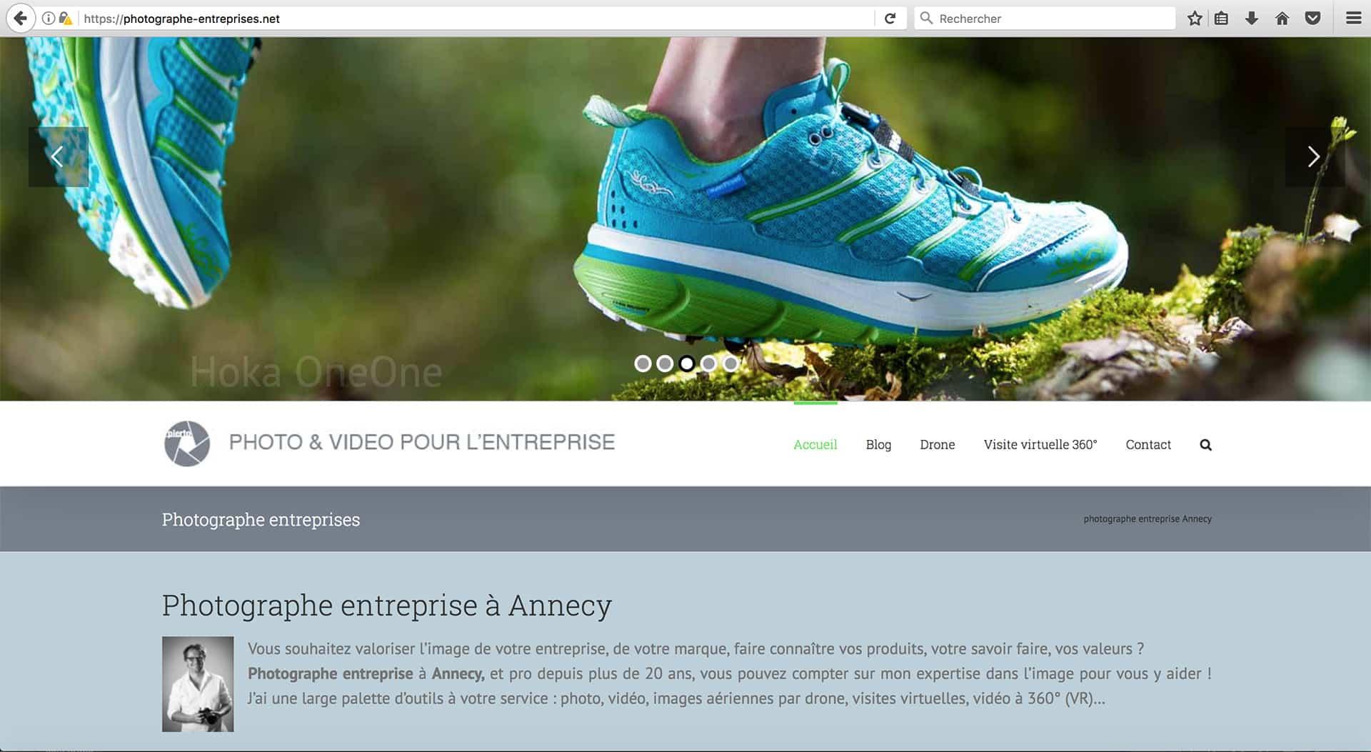 Création de site internet Annecy