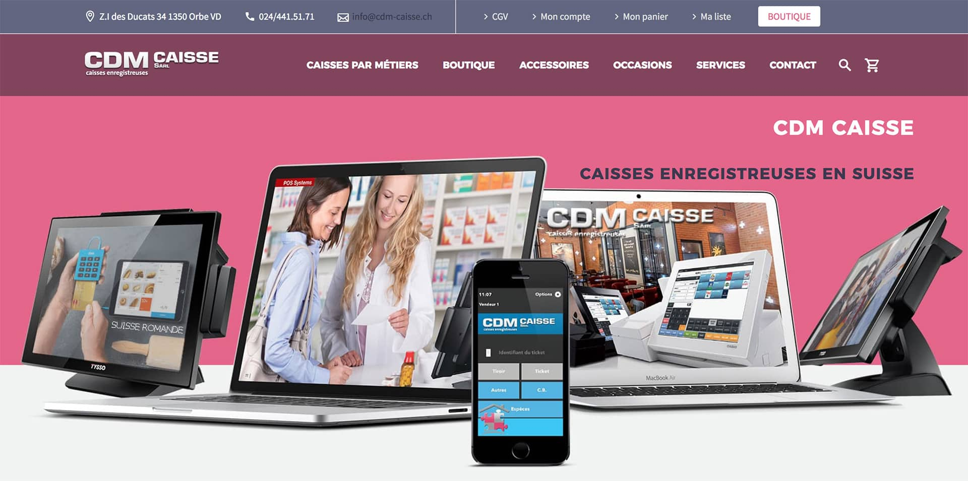 Cr ation de site internet vaud agence web de cr ation de site internet - Vente internet suisse ...