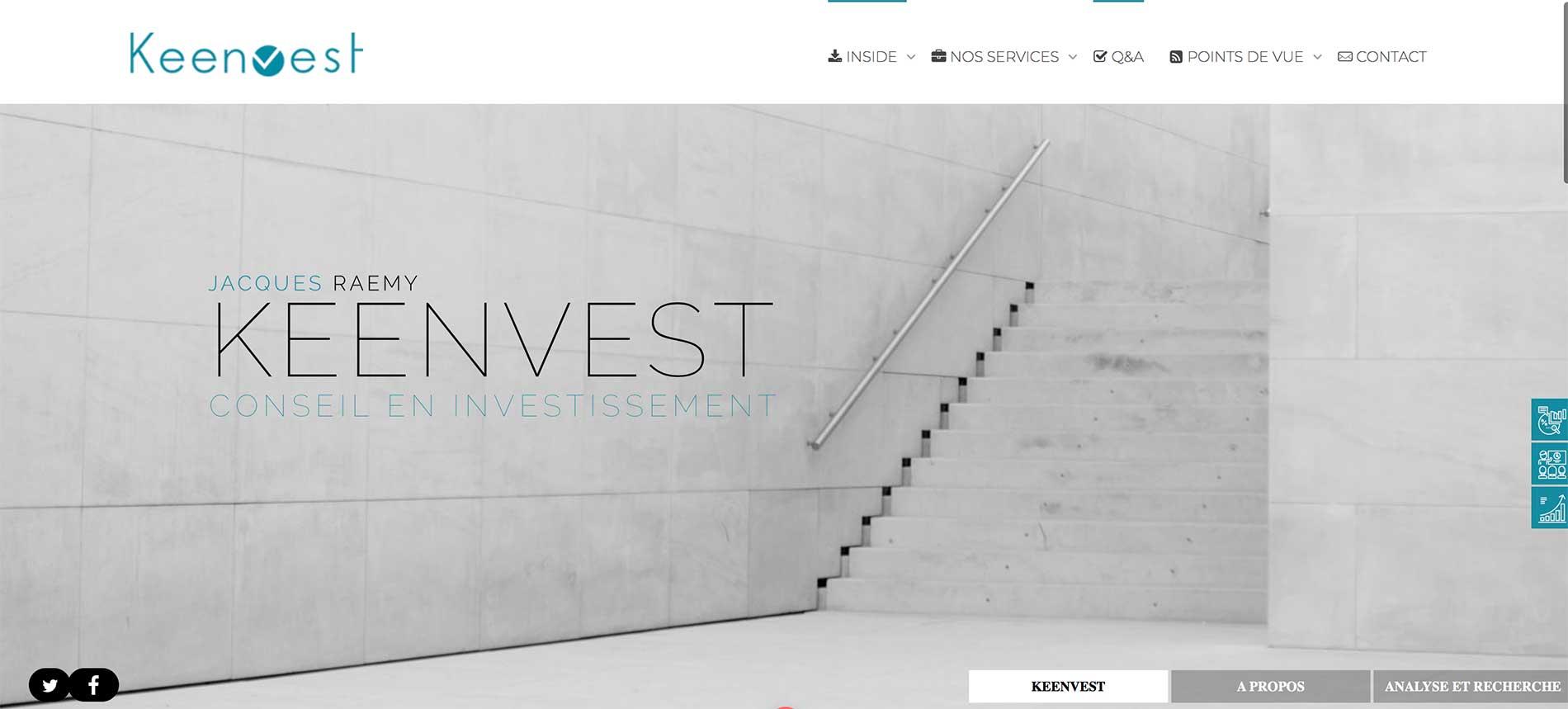 Création d'un site internet à Genève