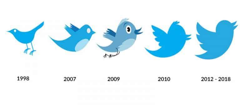 13 evolution logo Twitter flat design 768x336 1
